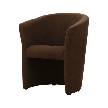 Fotel, barna, CUBA