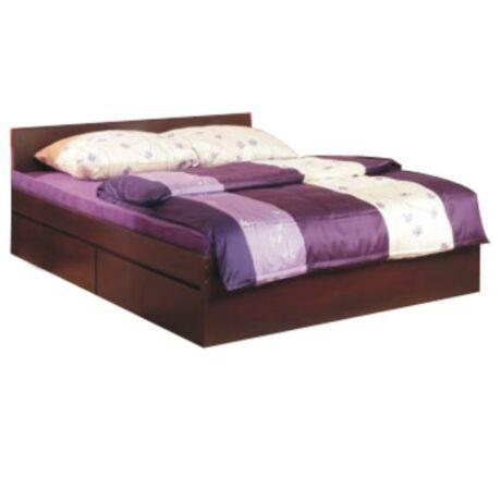 Ágyazható ágy, 160x200 cm, erdei fenyő/lareto, PELLO 92 TÍPUS