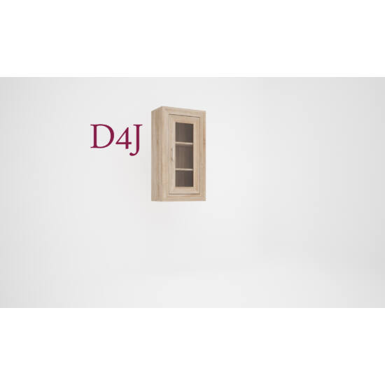 Dany D4 vitrines elem (jobb)