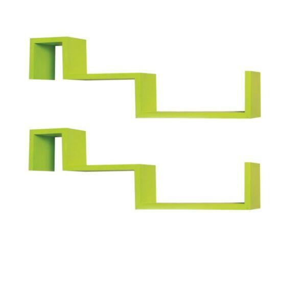 Polckészlet, zöld, FRI