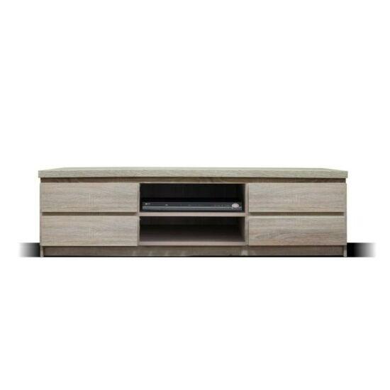 TV asztal/szekrény, 06 típus, sonoma tölgyfa, PANAMA
