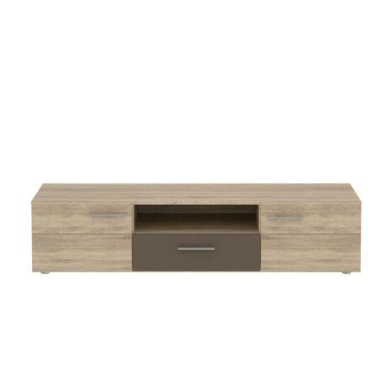 TV asztal/szekrény,sonoma tölgyfa/kakaó, CHAMION