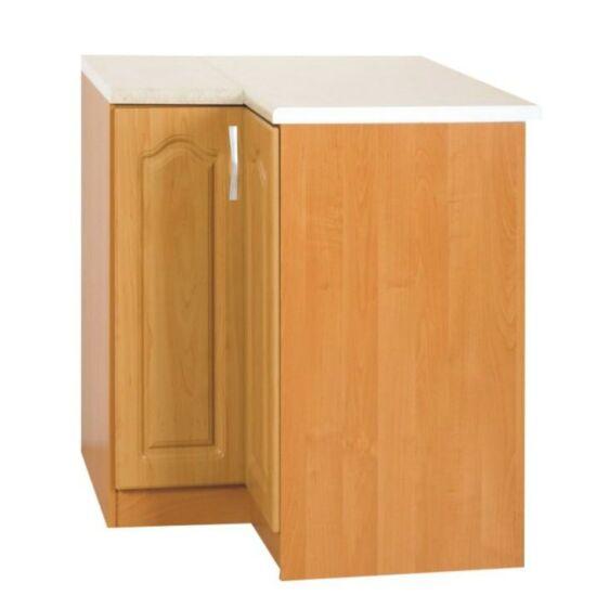 Alsó szekrény, jobb oldali kivitel, égerfa, LORA MDF S90/90