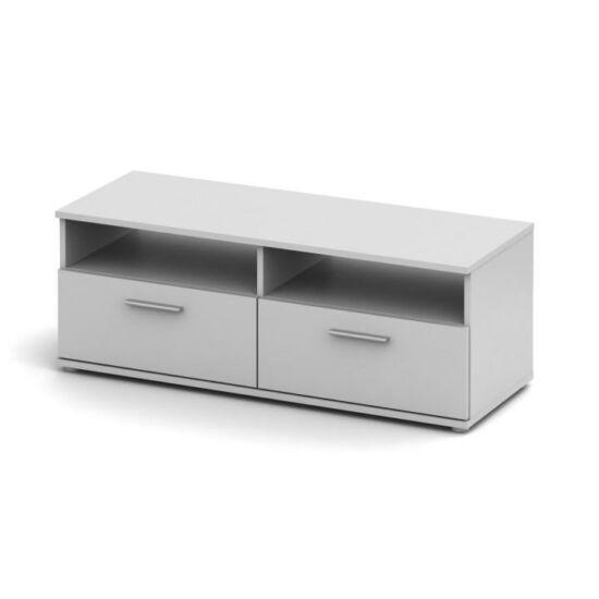 TV asztal/szekrény, fehér, NOKO-SINGA 12