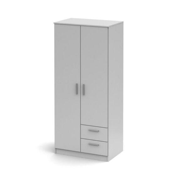 2ajtós szekrény fiókokkal, sonoma tölgyfa, NOKO-SINGA 81