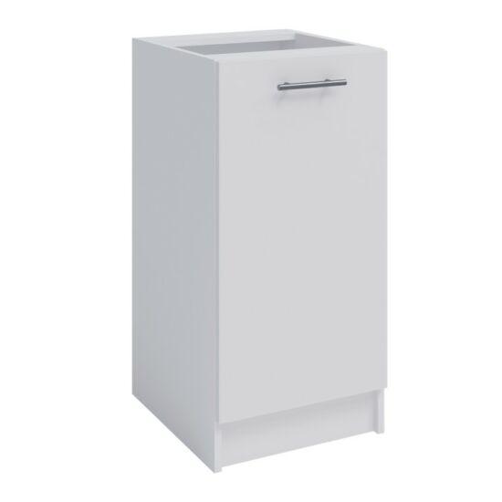 Alsó szekrény, fehér, FABIANA S-40