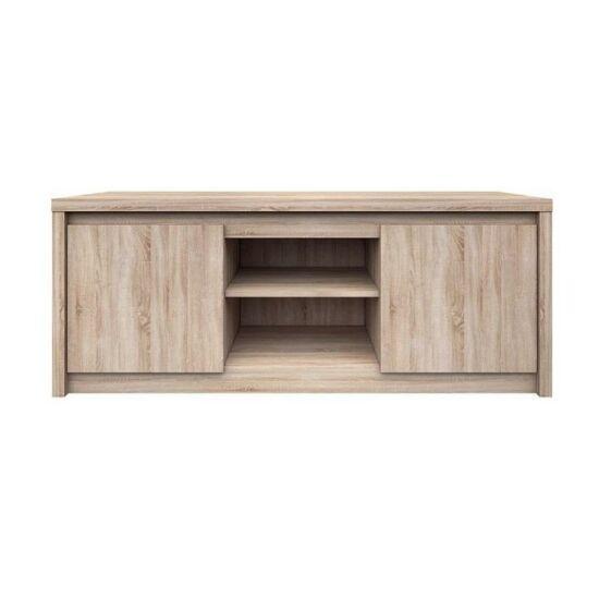 RTV asztal,DTD laminált, sonoma tölgyfa, NORTY