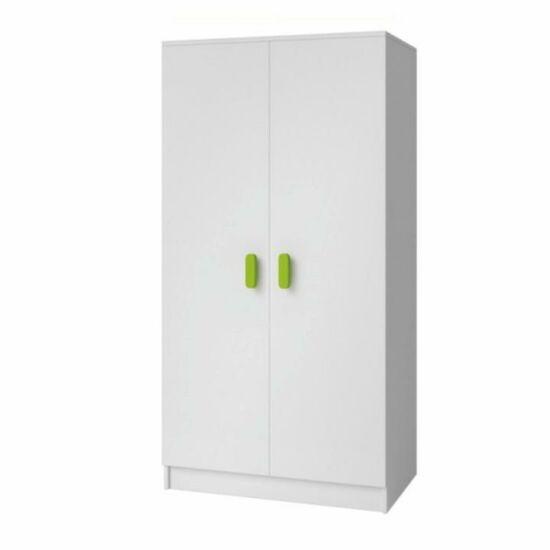 akasztós szekrény, fehér, SVEND TYP 6