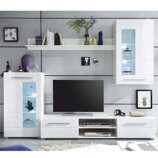 nappali sor,fehér extra magas fényű/áttetsző üveg,henri