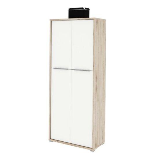 polcos szekrény,san remo/fehér,rioma typ 07.