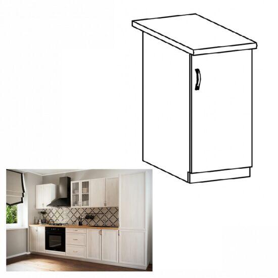 SICILIA D30 jobbos alsó konyha szekrény ajtóval