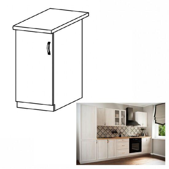 SICILIA D30 balos alsó konyha szekrény ajtóval