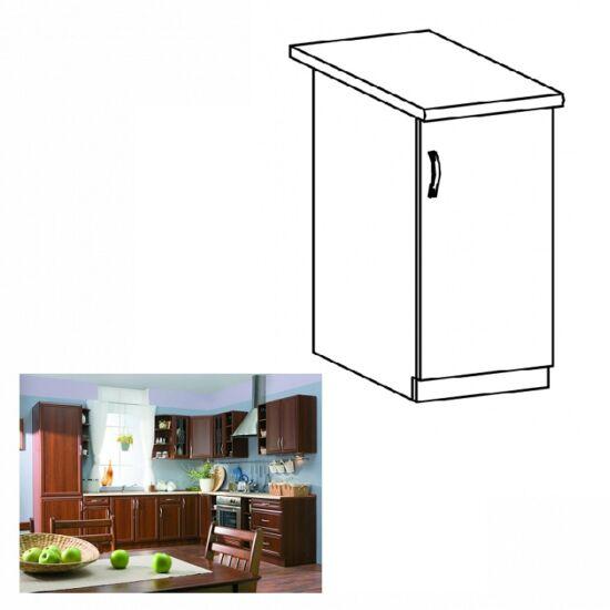 Jobbos alsó konyha szekrény ajtóval, dió Milano, SICILIA D30