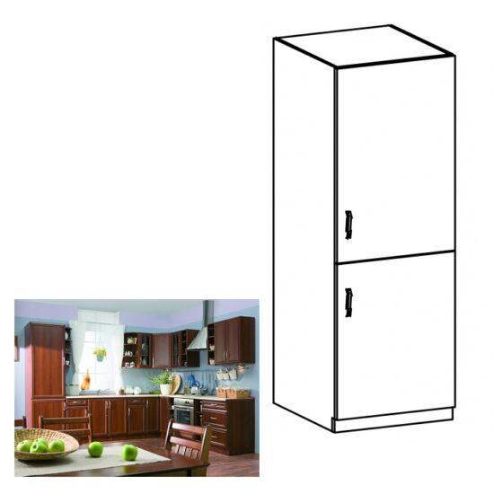 Konyha szekrény beépített hűtőszekrényhez, jobbos, dió Milano, SICILIA    D60ZL