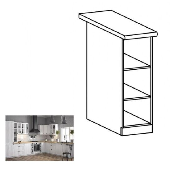 PROVANCE D20P konyhai alsó szekrény, fenyő ANDERSEN/fehér