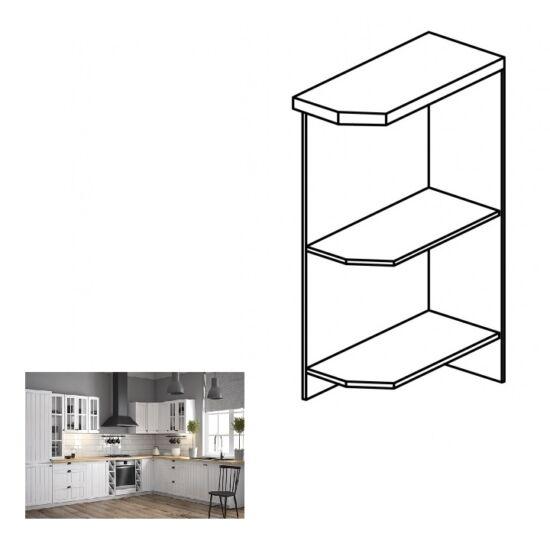 PROVANCE D25PZ konyhai alsó szekrény, balos, fenyő ANDERSEN/fehér