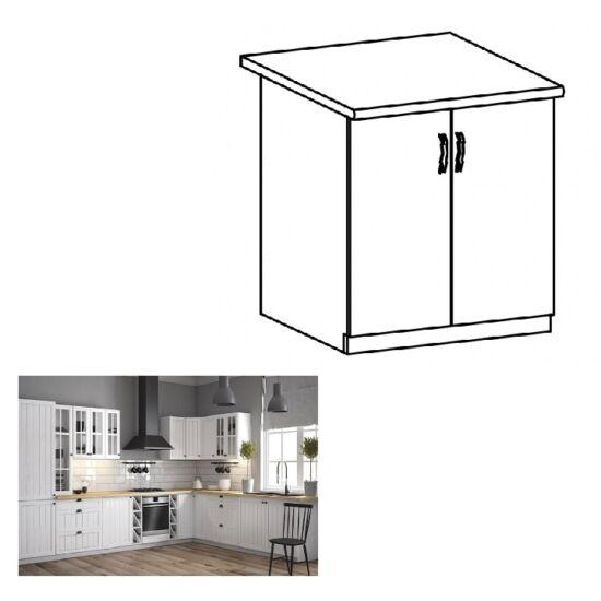 PROVANCE D60 konyhai alsó szekrény ajtóval, fenyő ANDERSEN/fehér