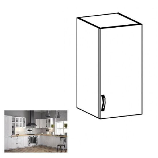 mPROVANCE G40 konyhai jobbos felső szekrény ajtóval és egy polccal,     fenyő ANDERSEN/fehér