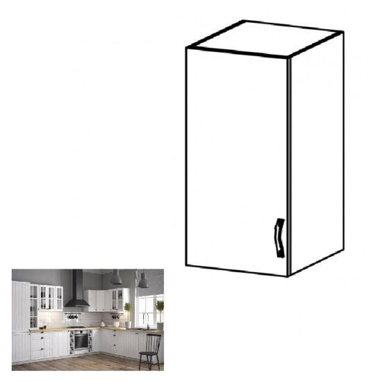 PROVANCE G40 konyhai balos felső szekrény ajtóval és egy polccal,     fenyő ANDERSEN/fehér