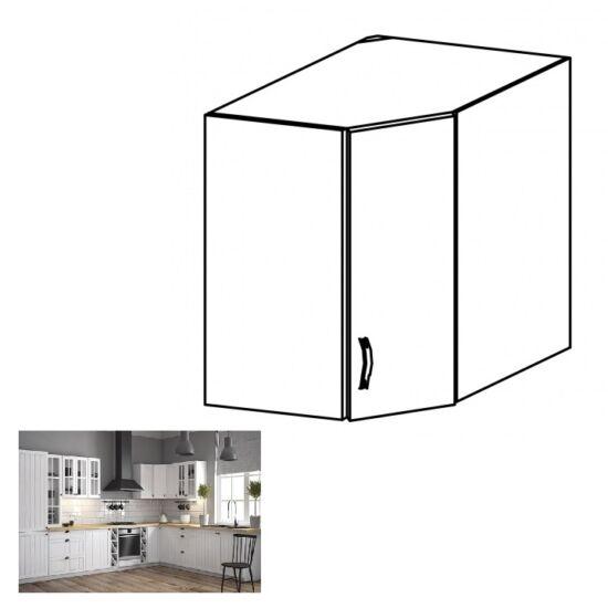 PROVANCE G60N konyhai felső sarokszekrény, fenyő ANDERSEN/fehér