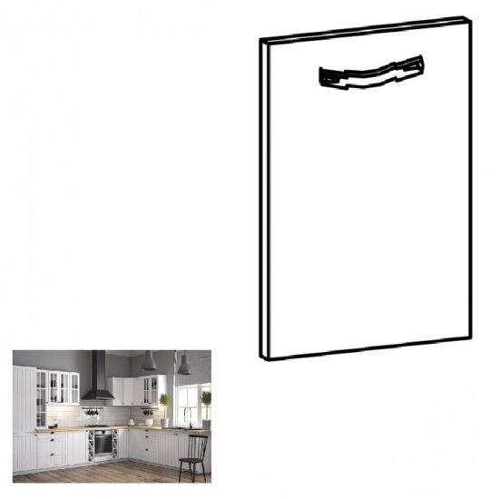 PROVANCE konyhai bútorhoz tartozó mosogató ajtó, 59,6x71,3 cm, fenyő     ANDERSEN