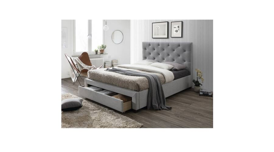 SANTOLA luxus modern ágy lécezett ágyráccsal ellátva  a544228736